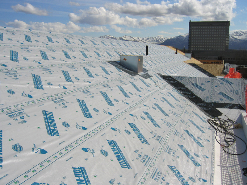 Synthetic Roofing Underlayment Photos