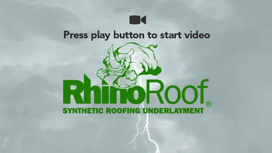 & RhinoRoof U20 Synthetic Roofing Underlayment memphite.com